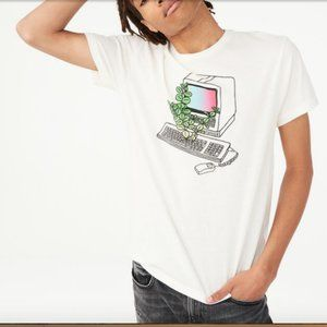 Aeropostale Free State Ancient Computer T-Shirt